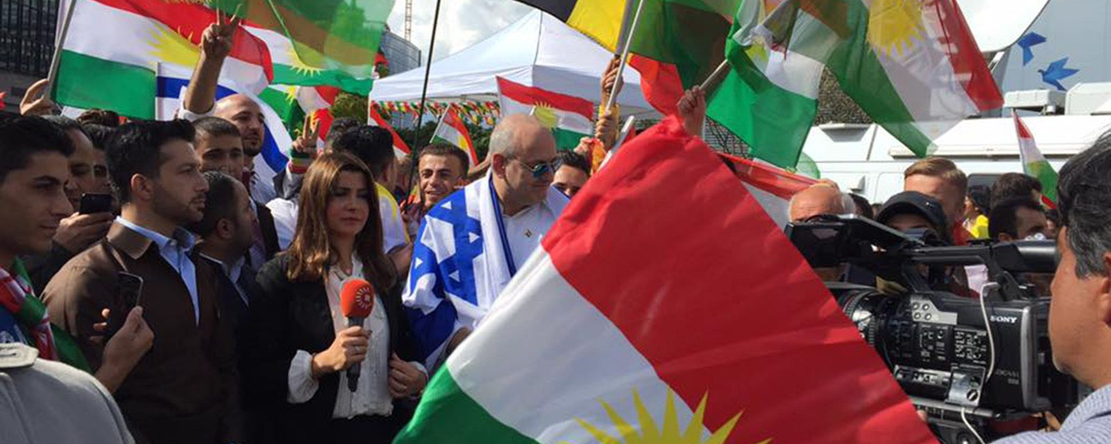 NEW JEWISH GROUP SUPPORTS INDEPENDENCE FOR KURDISTAN